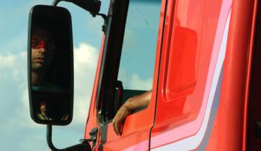 ciężarówka - praca kierowcy CE w Anglii